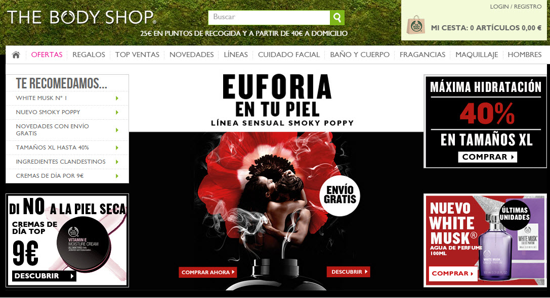 The Body Shop España opiniones