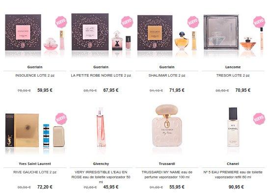 Perfumes Día de la Madre a domicilio 2015