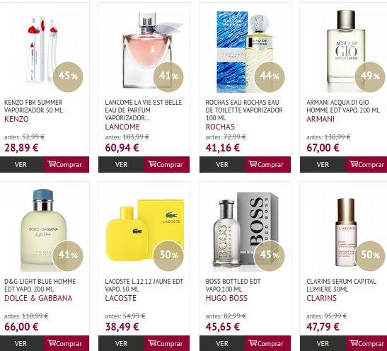If Perfumerías Clinique