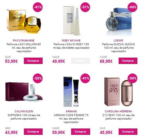 Perfumería Vip rebajas