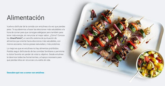 Weight Watchers dieta por puntos