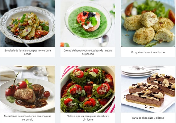 Weight Watchers recetas
