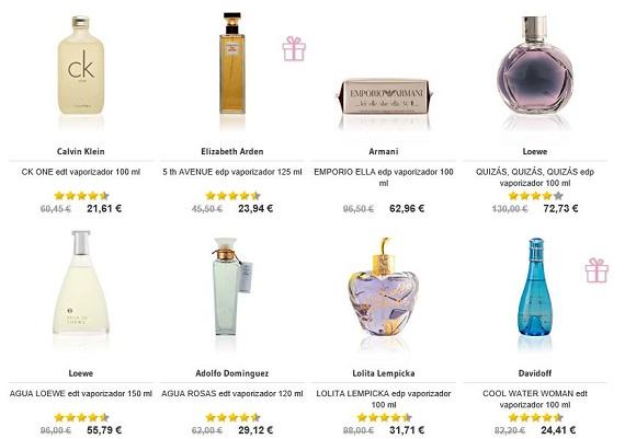 Perfumes Día de la Madre marcas
