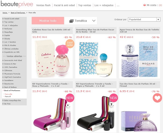 Perfumes Día de la Madre online