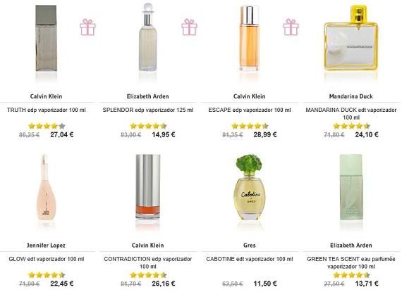 perfumes por menos de 30 euros a domicilio