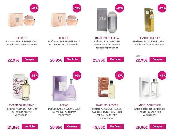 perfumes por menos de 30 euros de marca