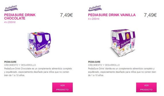 pediasure-precio