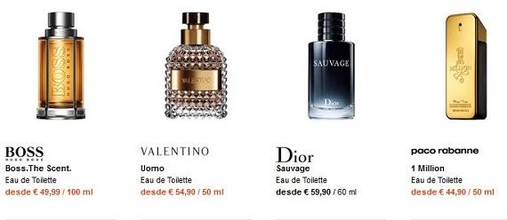 perfumes navidad ofertas