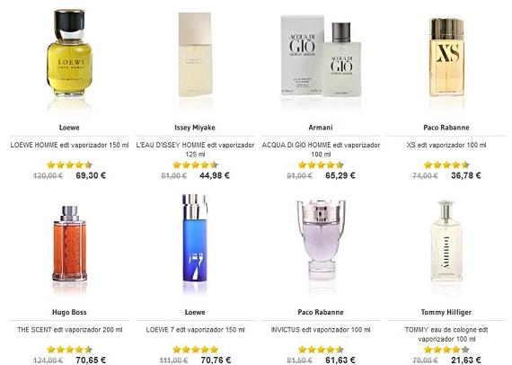 Perfumes San Valentín para el