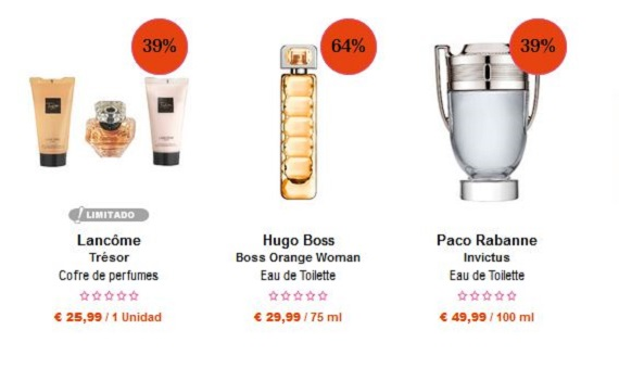Regalar perfumes San Valentín online