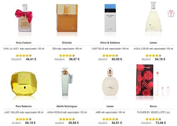 Regalar perfumes San Valentín originales