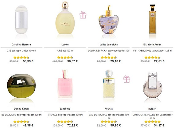 mejores perfumes mujer