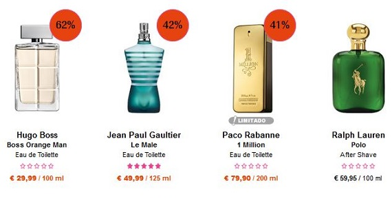 perfumes día del padre baratos