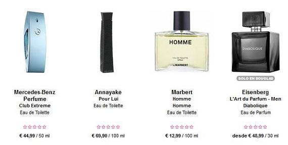 perfumes día del padre marcas