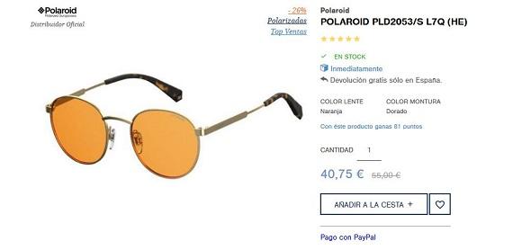 gafas polaroid redondas