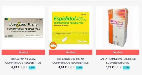 farmaciasdirect medicamentos