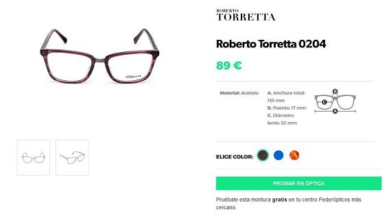 federopticos gafas graduadas